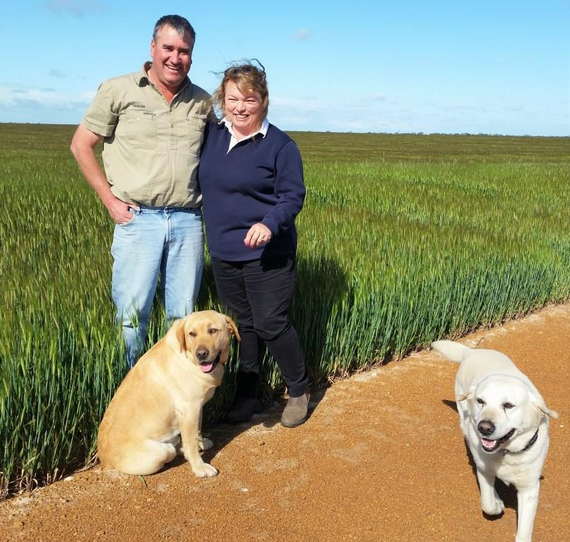 farmers growing premium grain for Lucky Bay Brewing