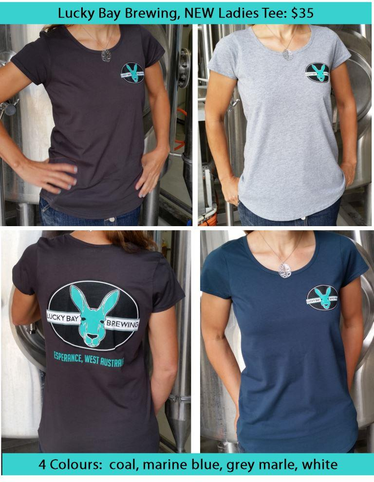 ladies tees, Lucky Bay Brewing