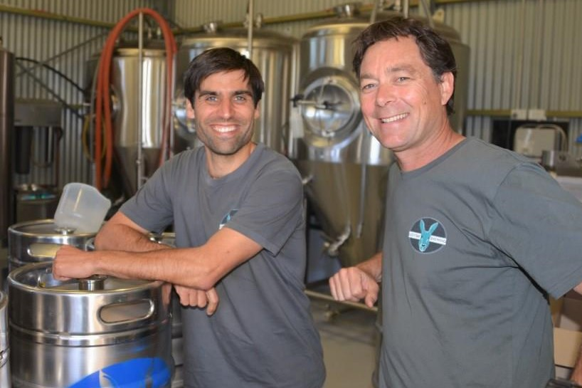 Lucky Bay Brewing co-owner and brewer